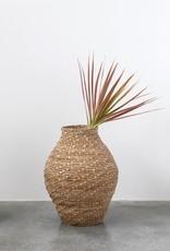 Hand Woven Cattail Basket