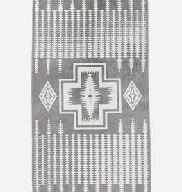 PENDLETON Chief Joseph Grey Oversized Towel