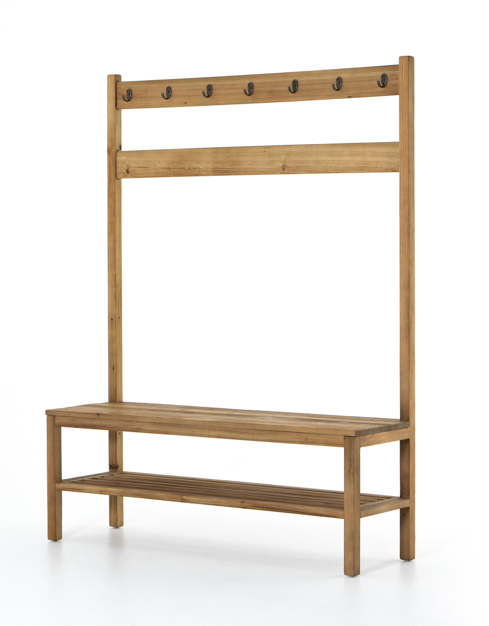 BENCH ENTRYWAY KIANA NATURAL RECLAIMED PINE