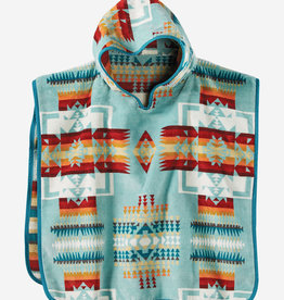 PENDLETON Kids Hooded Towel - Aqua