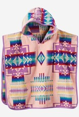 PENDLETON Kids Hooded Towel - Pink