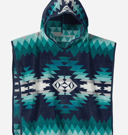 PENDLETON Kids Hooded Towel - Turquoise