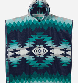PENDLETON Adult Hooded Towel - Turquoise
