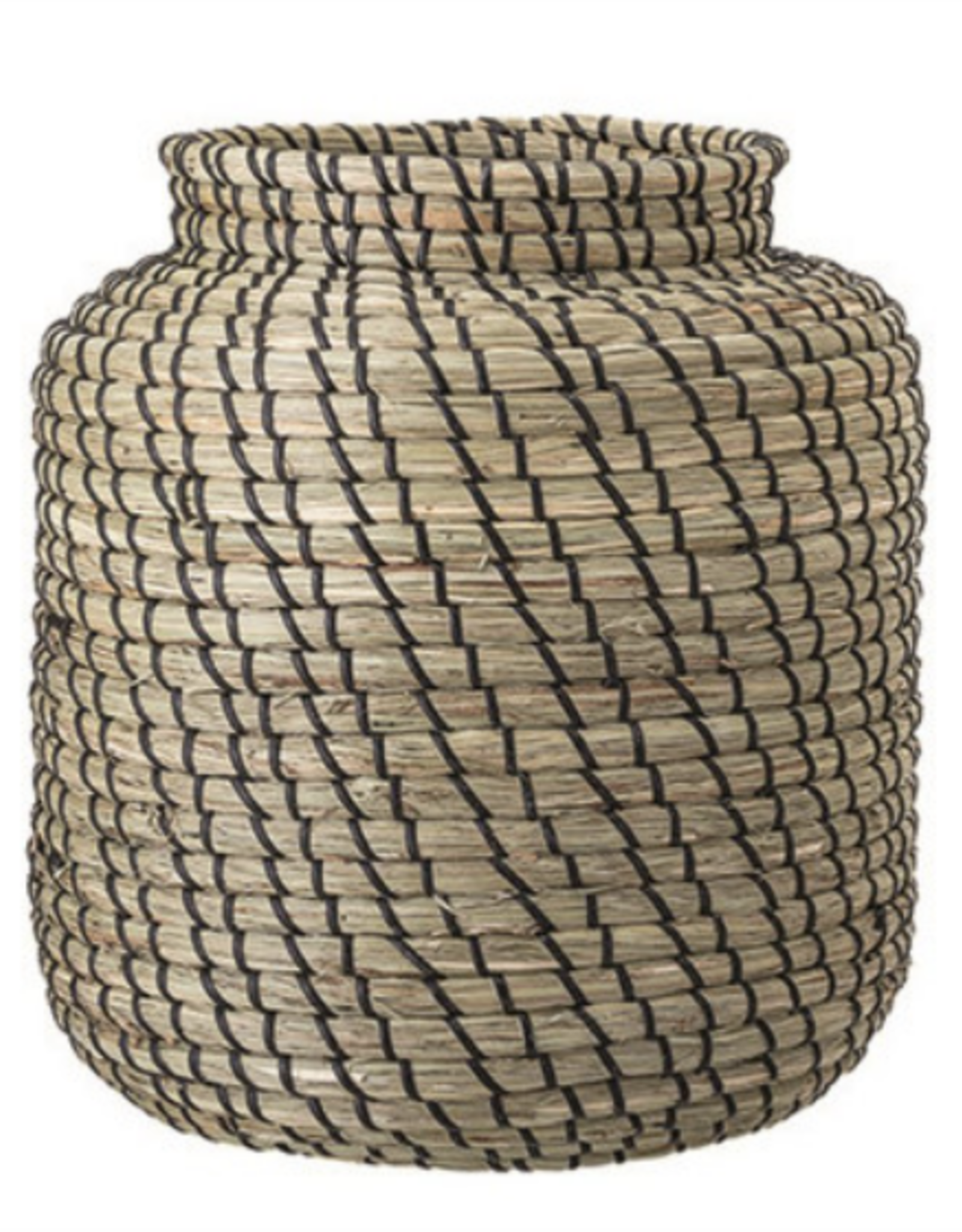 Hand-Woven Seagrass Basket
