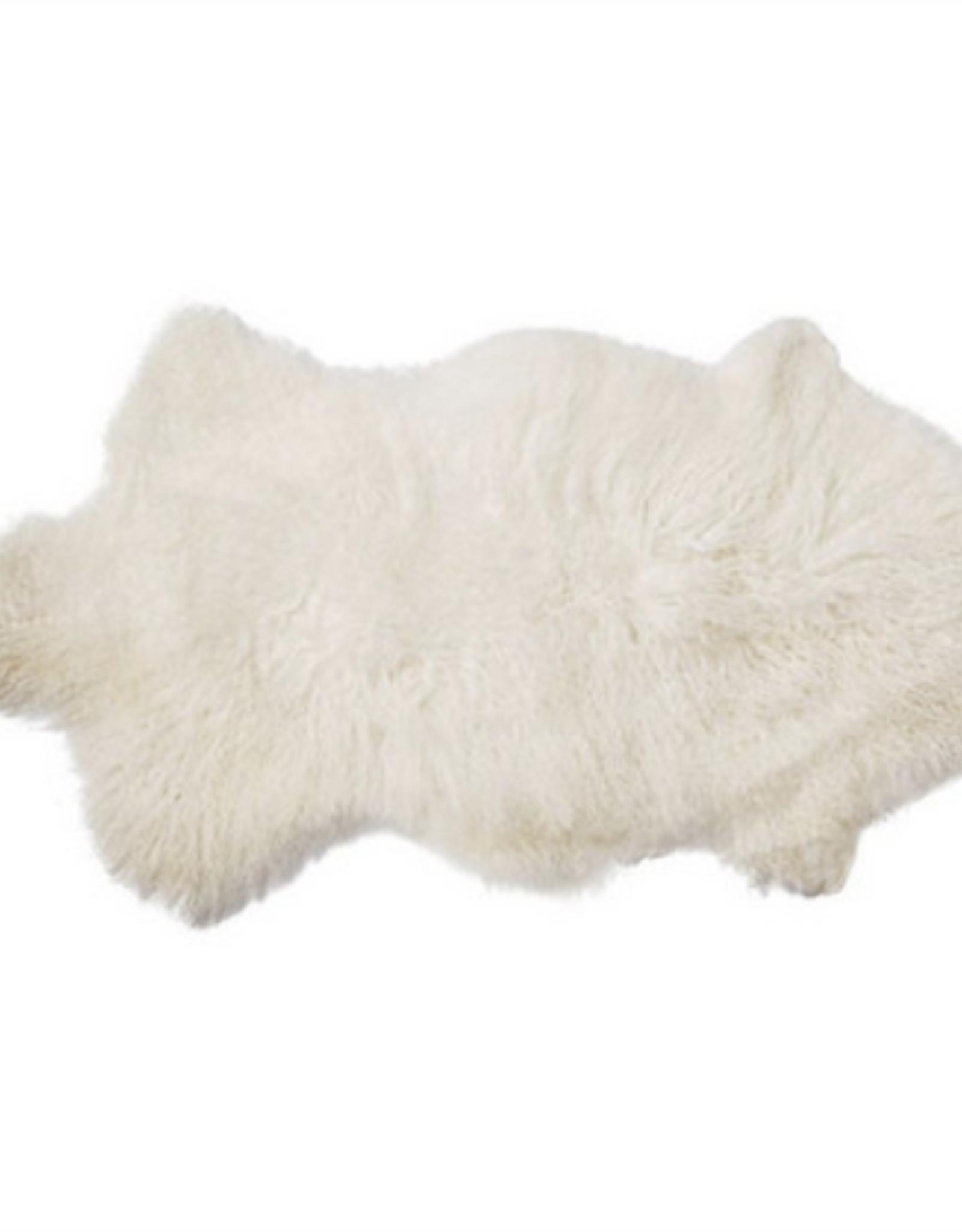 Mongolian Lamb Fur Rug