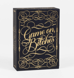 CHRONICLE BOOKS Game on B*tches Playing Cards