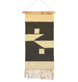Austin Wall Hanging - Natural and Black