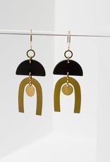 Tulum Earrings - Black