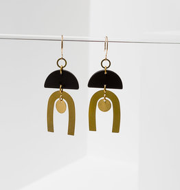 Tulum Earrings - Black
