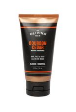 Travel Body Wash - Bourbon Cedar
