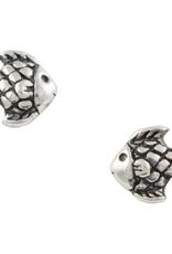 Fish Stud Earrings