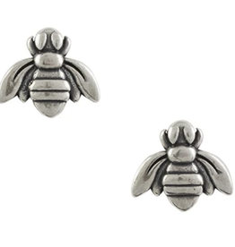 Bee Post Stud Earring