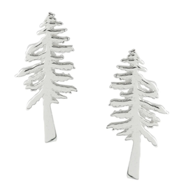 Redwood Tree Stud Earrings