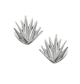 Agave Plant Stud Earrings