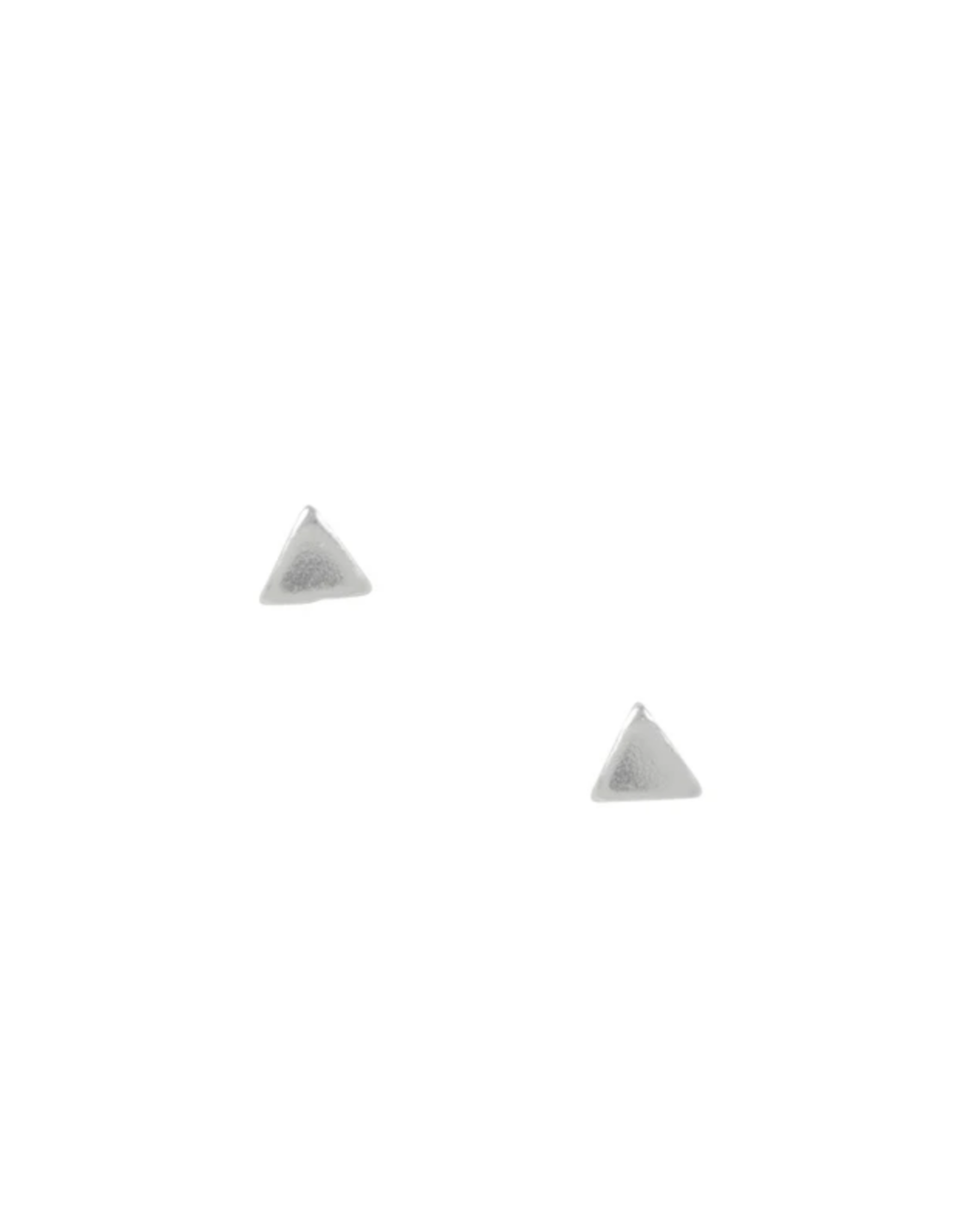 Small Triangle Stud Earrings