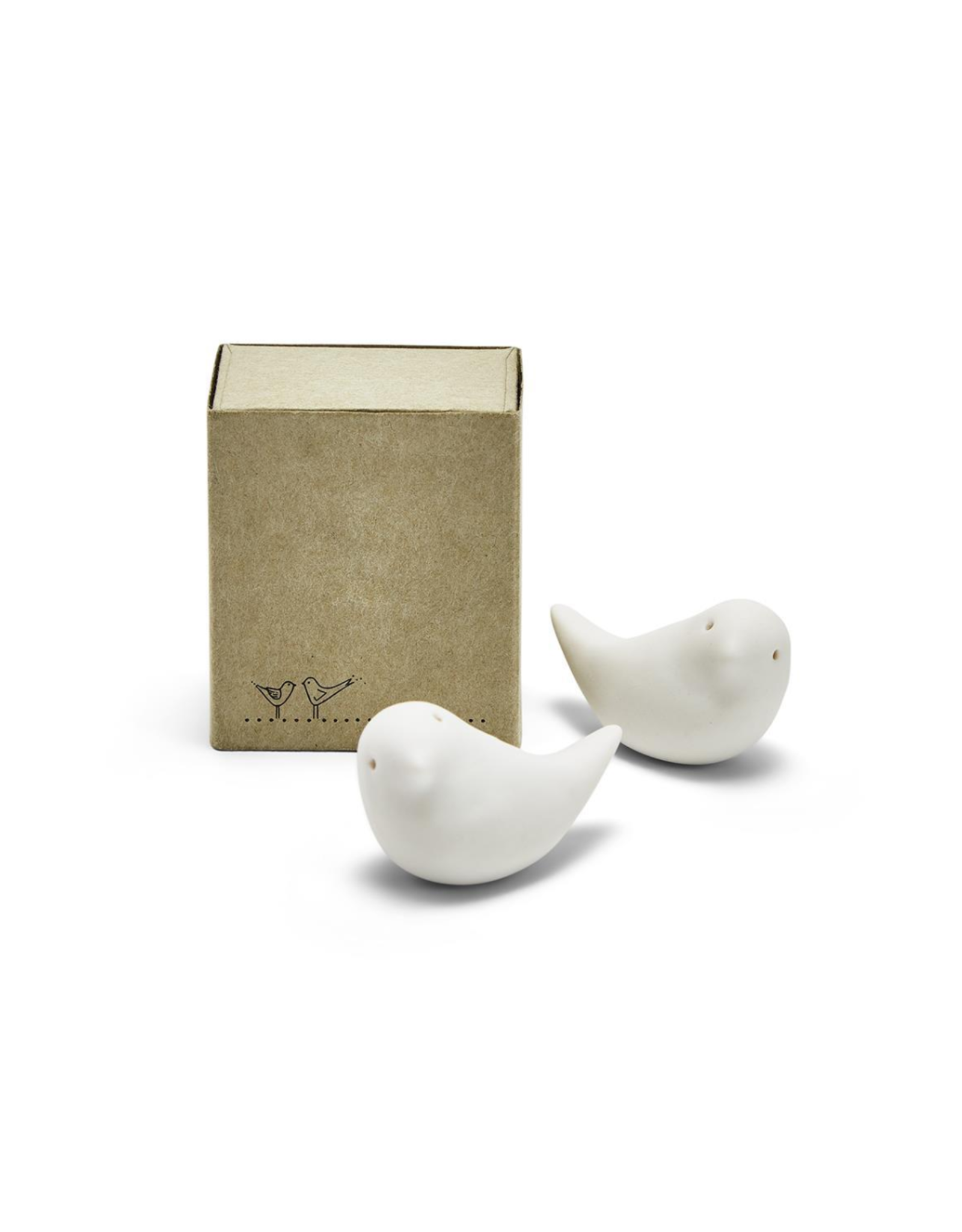 Pair of Doves Figurines