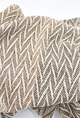 Cotton Throw - Chevron Pattern
