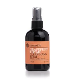 ELIZABETH W Grapefruit Thyme Hand Spray- 4 oz