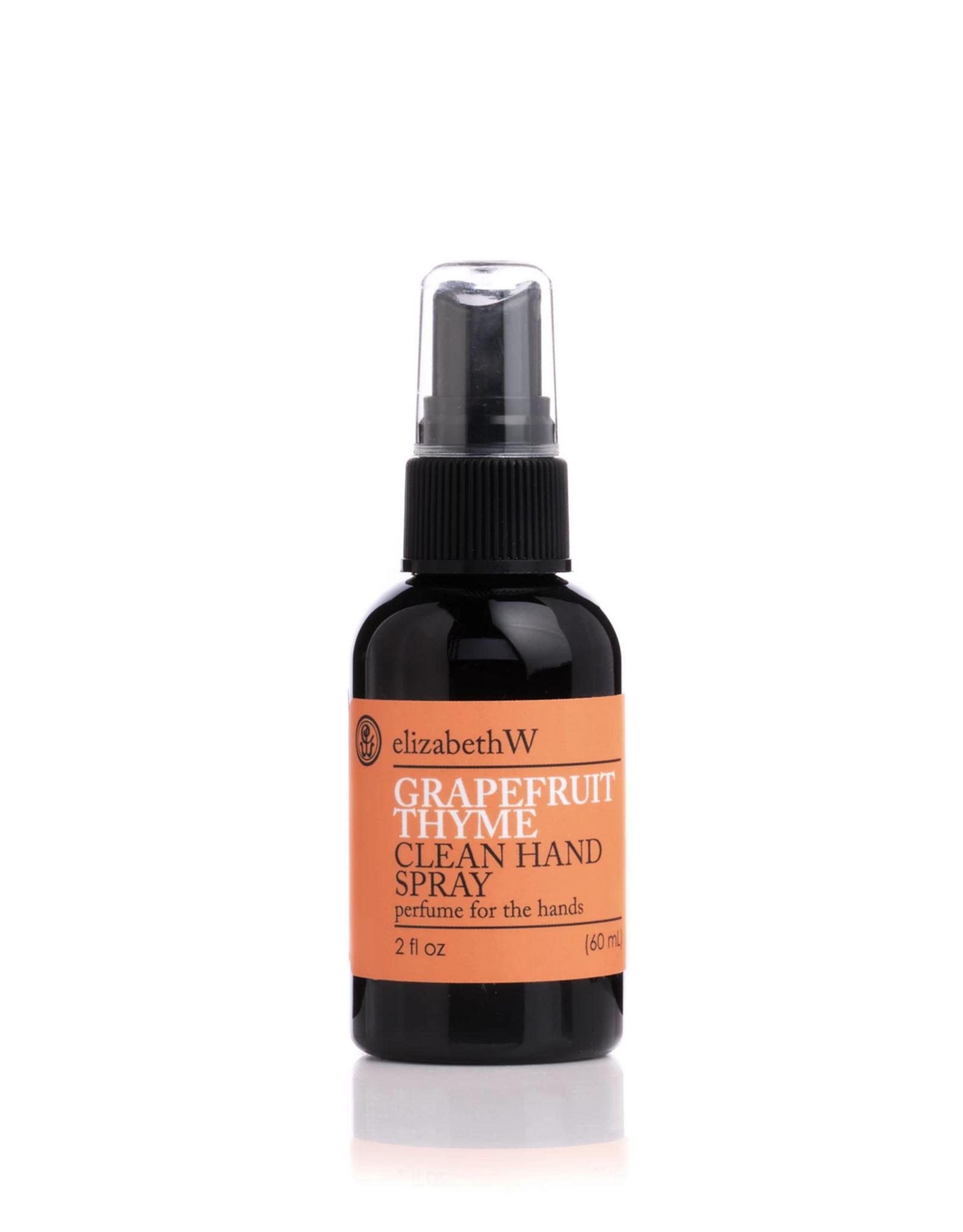 ELIZABETH W Grapefruit Thyme Hand Spray- 2 oz