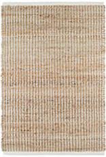 Gridwork 2'x3' Woven Jute Rug