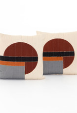 Kai Stripe Natural Pillow