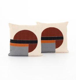 Kai Stripe Natural Pillow