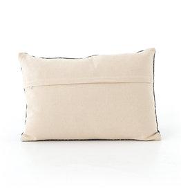 Charcoal Diamond Print Pillow