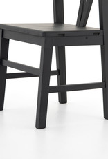 Matte Black Daisy Dining Chair