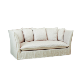 LEE Slipcovered High Back Sofa