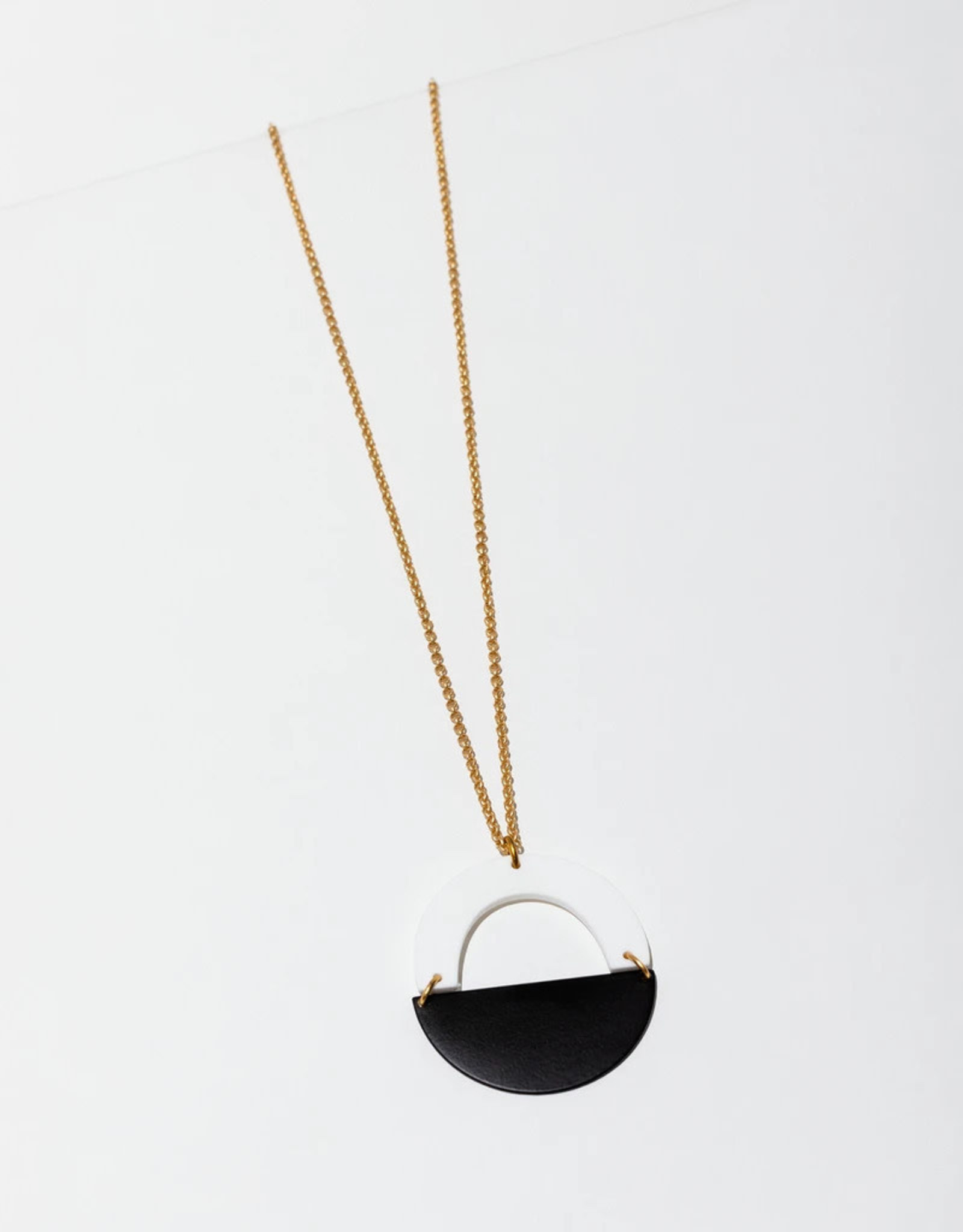NECKLACE FORME WHITE
