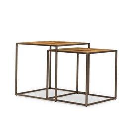 TABLE NESTING KENZO - NATURAL SET OF 2