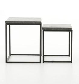 Harlow Bluestone Side Table - Large