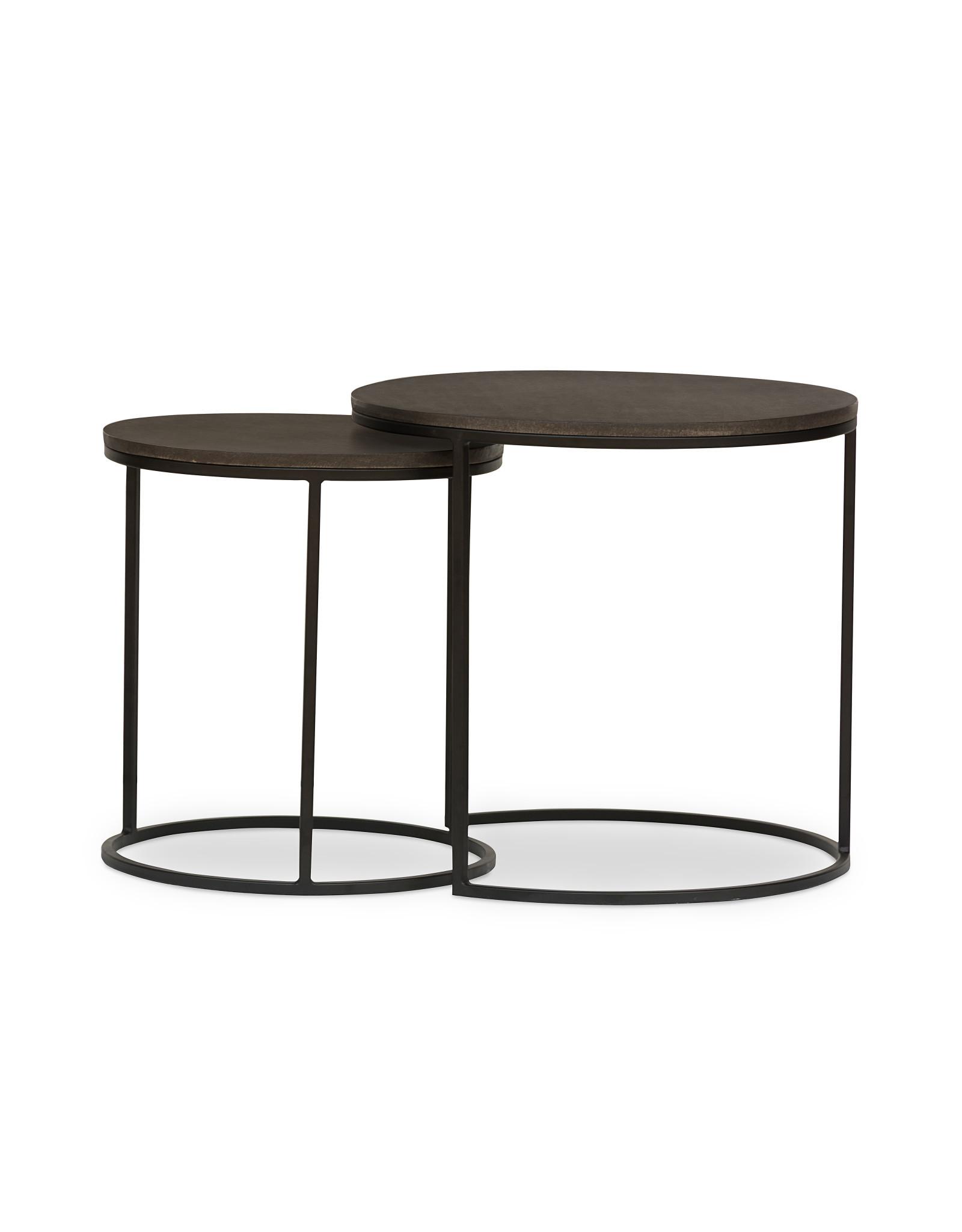 SIDE TABLE LAVASTONE LARGE