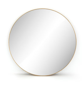 Bellvue Mirror - Brass Finish