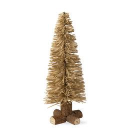 TREE CHRISTMAS RATTAN MEDIUM 16 INCH