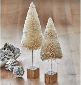 TREE CHRISTMAS BOTTLE BRUSH TALL 14 INCH