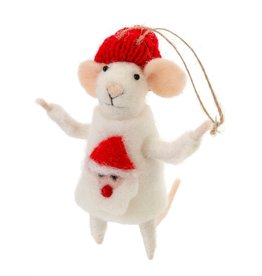 ORNAMENT MOUSE UGLY SWEATER SIMON