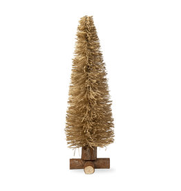 TREE CHRISTMAS RATTAN SMALL 14 INCHES