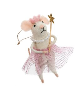 ORNAMENT MOUSE PRINCESS PEARL