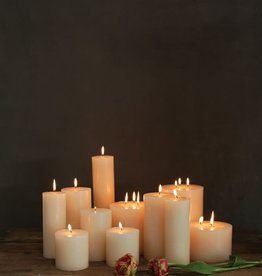 CANDLE PILLAR 3 X 4 UNSCENTED 72 HOUR BURN TIME