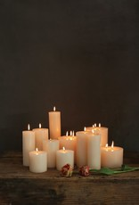 CANDLE PILLAR 4 X 8 UNSCENTED 148 HOUR BURN TIME