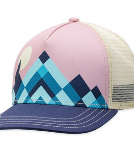 TRUCKER HAT LUNAR NAVY BLUE