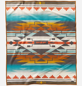 PENDLETON N7 Seven Generations Jacquard Robe Blanket - American Indian College Fund Collection