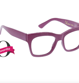 PEEPERS READING GLASSES READERS SHINE ON PINK +3.00