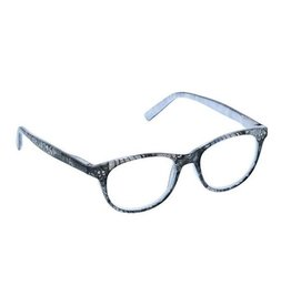 PEEPERS READING GLASSES READERS MASQUERADE GRAY +2.5