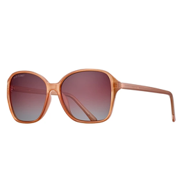 BLUE PLANET EYEWEAR SUNGLASSES ALTHEA CARAMEL WITH GRADIENT BROWN LENS