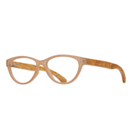 BLUE PLANET EYEWEAR GLASSES READERS MADISON FROST BEIGE