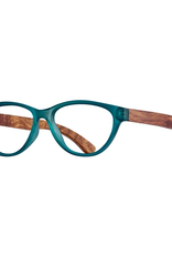BLUE PLANET EYEWEAR GLASSES READERS MADISON FROST TEAL