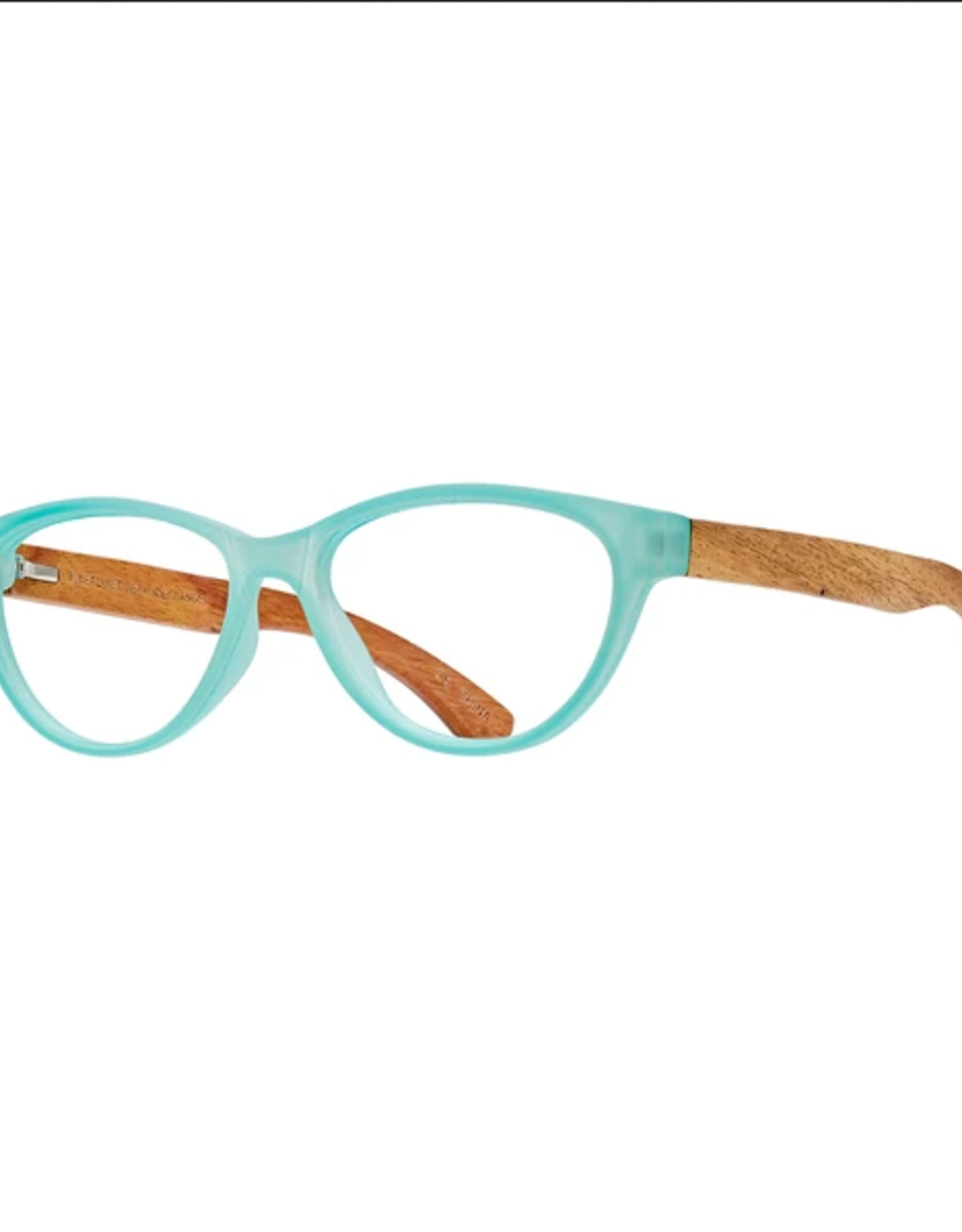 BLUE PLANET EYEWEAR GLASSES READERS MADISON FROST TURQUOISE 2.0