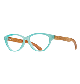 BLUE PLANET EYEWEAR GLASSES READERS OJAI TURQUOISE